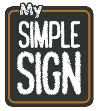 My Simple Sign